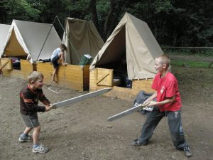 P7304662-300x225 Letní tábor Javornice 2010 - Robin Hood