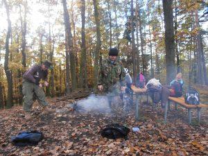 PB030483-300x225 Brigáda na Městské hoře a výprava na Děd 3. 11. 2012
