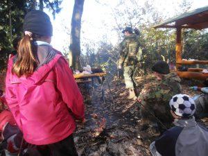 PB030486-300x225 Brigáda na Městské hoře a výprava na Děd 3. 11. 2012