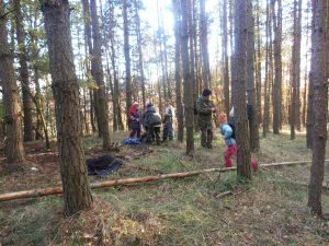 PB030518-300x225 Brigáda na Městské hoře a výprava na Děd 3. 11. 2012