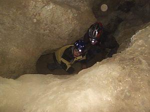 P1010037-300x225 Speleologická víkendovka na Tetíně 31. 10.- 1. 11. 2009