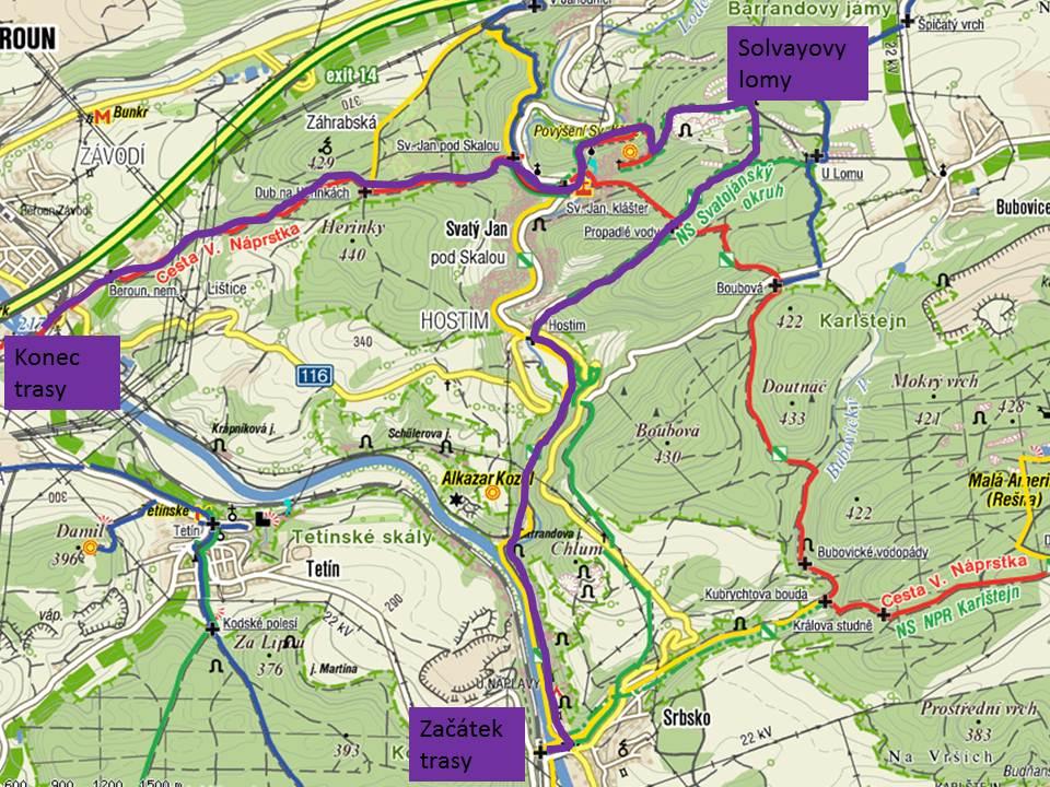 Solvay-2011 Výprava do Solvayových lomů 15. 10. 2011