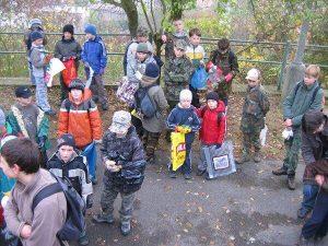 k1-1-300x225 Brigáda na Městské hoře a výprava na Kobylu 24. 10. 2009