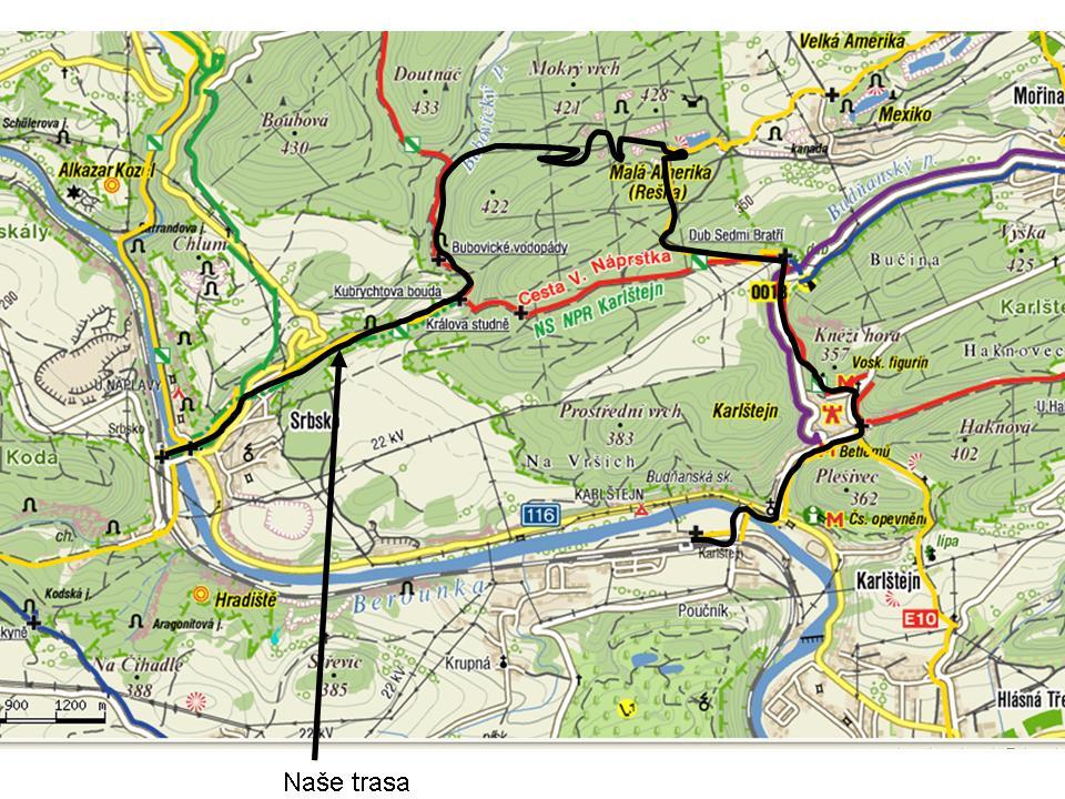 k8 Výprava na Karlštejnské vodopády 26. 2. 2011