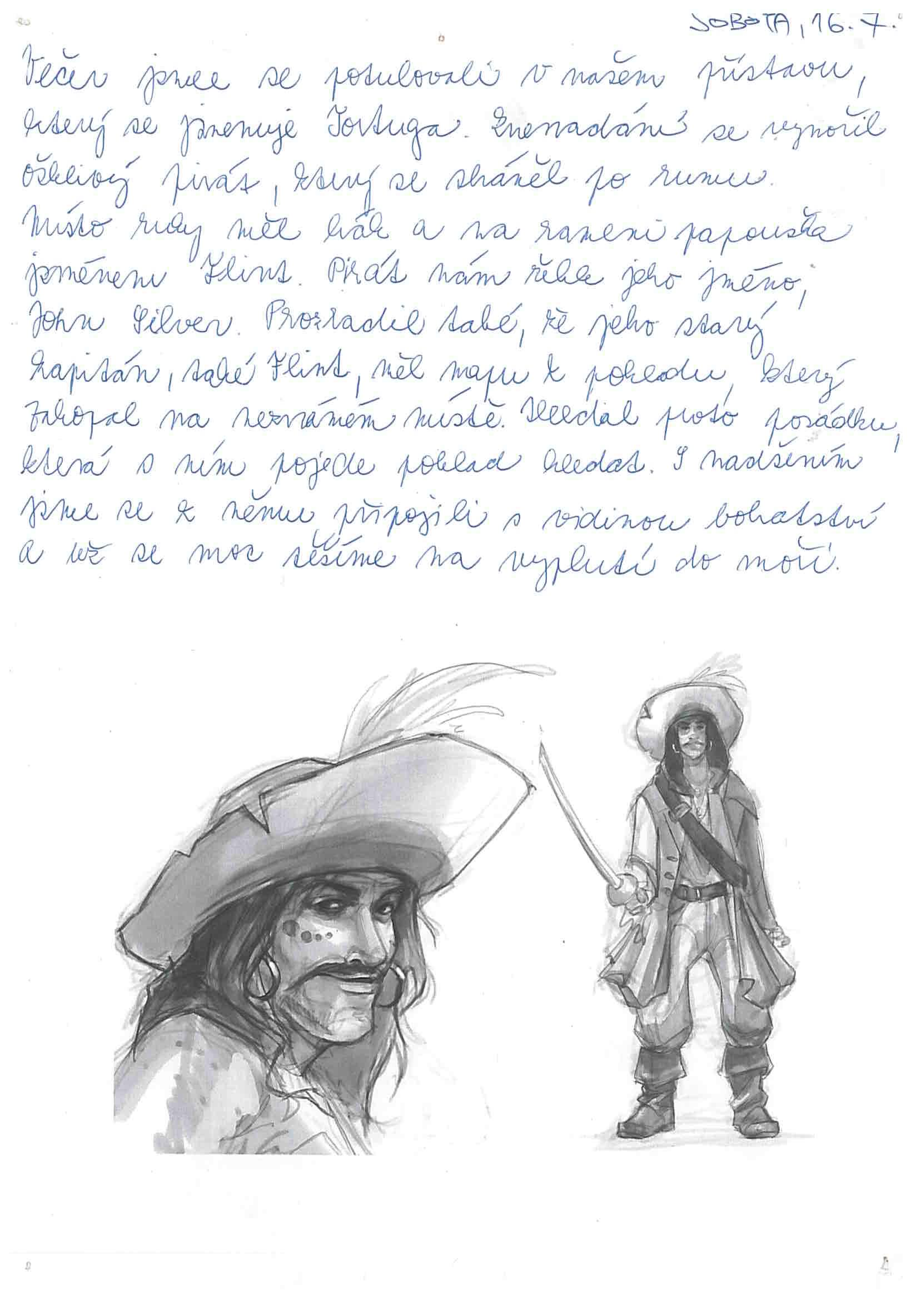 16.7.2016 Vzpomínka na tábor 2016 - Piráti